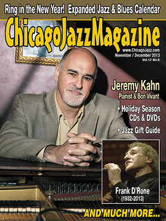 Jeremy kahn jazz magazine cover
