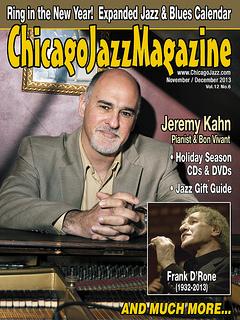 Jeremy kahn jazz magazine cover